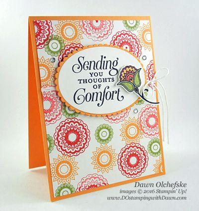 Paisleys & Posies Bundle card created by Dawn Olchefske for DOstamperSTARS Thursday Challenge #DSC196 #dostamping #stampinup