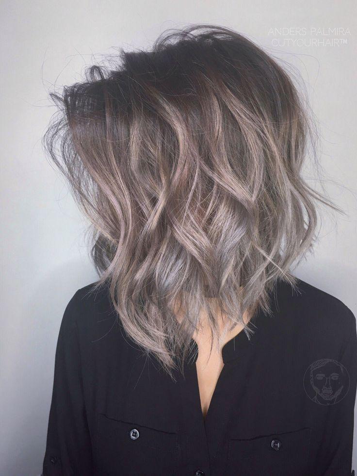 Best 25 Gray Balayage Ideas On Pinterest Balayage Hair