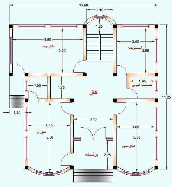 Standard House Plan Collection Engineering Discoveries House Plans Town House Plans House Layout Plans