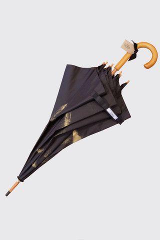 Beau Umbrella- Brush Painted