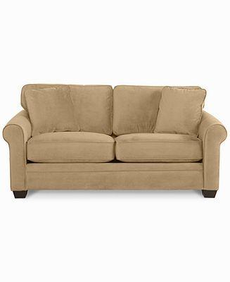 Remo Fabric Velvet Sofa Bed, Full Sleeper 78\