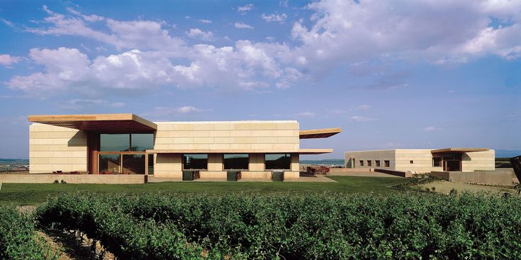 Built by Ignacio Quemada Arquitectos in Logroño, Spain with date 2003. Images by Duccio Malagamba. The Campo Viejo Winery lies on a plateau on the River Ebro valley, the Rad de Santa Cruz, which is covered by 37 hect...