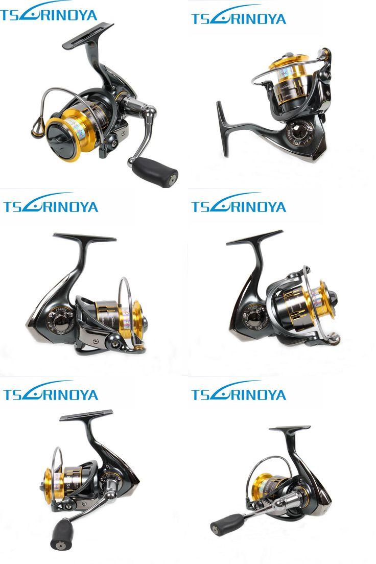 [Visit to Buy] Tsurinoya FS2000 Spinning Fishing Reel 10BB 5.2:1 Metal Spool Carp Coil for Trolls Carretilhas De Pescaria Molinete Para Pesca #Advertisement