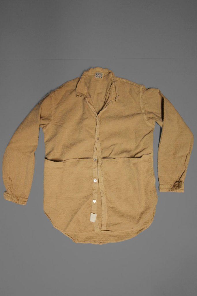 483-fawn-logwood-wave-calico-shirt-front | Fashion | Shirts
