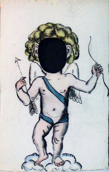 """""""Амур"""" Елена Александровна Бенуа-Клеман (1898-1972). Бумага, карандаш. 1919 Из коллекции ГМЗ """"Петергоф"""""""