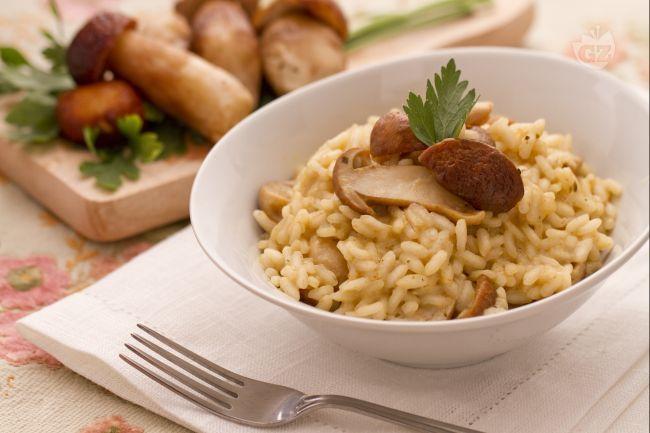 Risotto ai funghi porcini - Mushroom Risotto