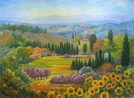 34 Best Images About Paintings Tuscany Amp Italy On Pinterest