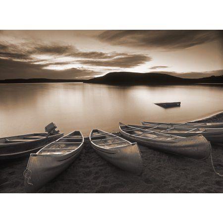 Elkwater Lake Cypress Hills Interprovincial Park Eklwater Alberta Canada Canvas Art - Darwin Wiggett Design Pics (32 x 24)