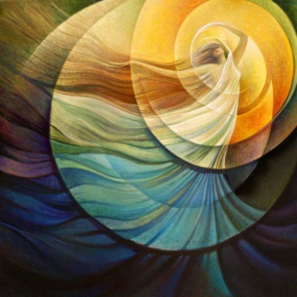 JOY VIBRATIONS ❤ liked on Polyvore featuring backgrounds, art, abstract, abstract backgrounds and color