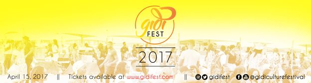 EVERY EASTER! ONE FESTIVAL! ONE CULTURE! - #GidiFest2017  EVERY EASTER! ONE FESTIVAL! ONE CULTURE! - #GidiFest2017  As THE GIDI CULTURE FESTIVAL (also known as GIDIFEST) gears up for its fourth edition Lagos is waiting with bated breath buzzing with excitement and preparations are in top gear!#GidiFest2017 is set to hold on the15th of April 2017.This one-day event is very well-orchestrated and aimed at facilitating the growth of the urban youth culture in Nigeria. It will include physical…