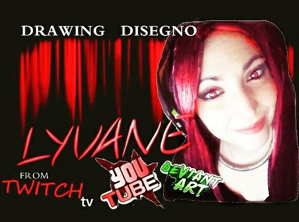 #Drawing from #Twitchtv for the #series making of a #streamers - #Lyvane published to #Youutbe #Twitchgirl #gamergirl #redgirl #ragazzarossa #luna #moon #girl #ragazza #streamergirl  #muse                                         LINk https://youtu.be/2TS6_ZaJmC4  Grazie a Lyvane #Drawing #Disegno da #streaming #diretta Twitchtv  Per la #serie Making of a #streamers  Su #Youtube - #Deviantart - #twitchtv .