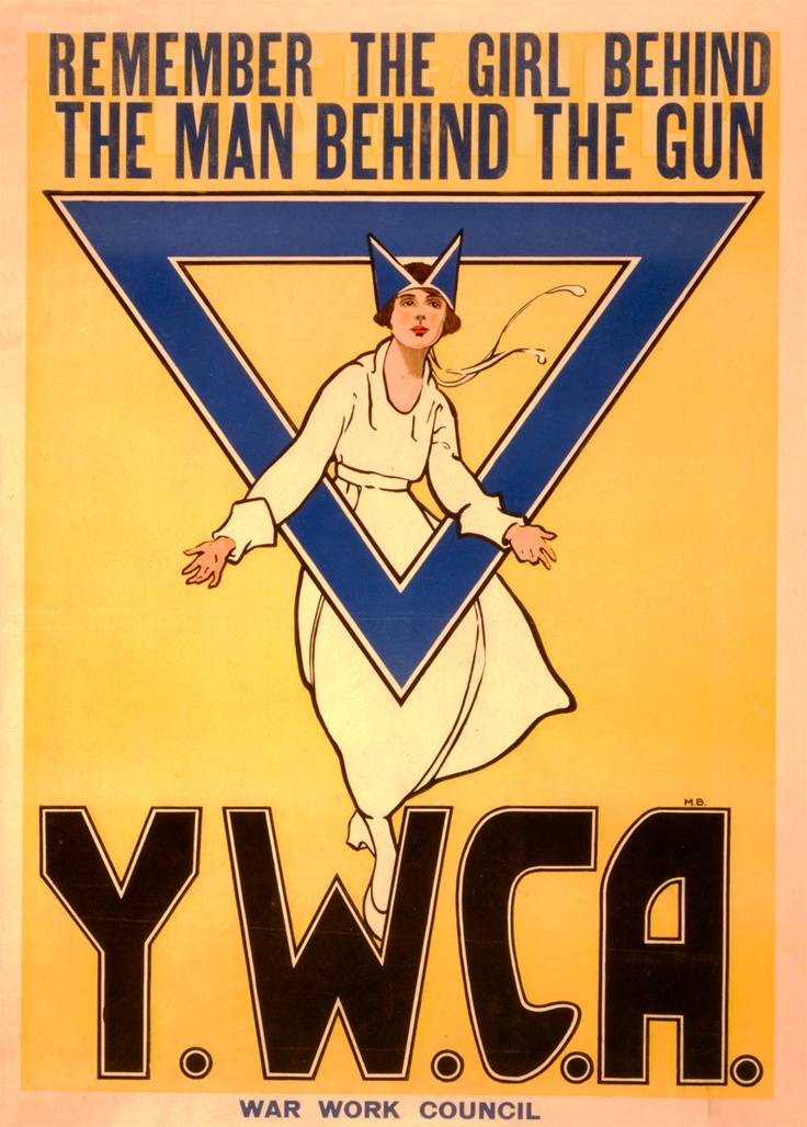 Vintage Poster Reprint YWCA 8x11 PopMount Ready to Hang FREE SHIPPING. $33.00, via Etsy.