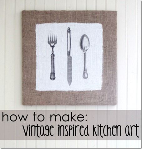 DIY kitchen art graphicIdeas, Kitchens Wall, Diy Kitchens, Kitchens Art, Kitchen Art, Home Decor, Diy Wall Art, Homemade Gift, Graphics Fairies