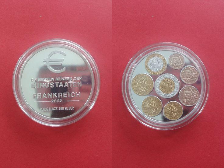 Médaille Raritäten le Pays de la zone euro France 2002 proof eine Once Argent | Monnaies, Médailles, jetons, Médailles étrangères | eBay!