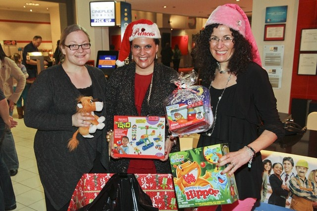 The Rocca Sisters annual toy drive for sick children's...another success!