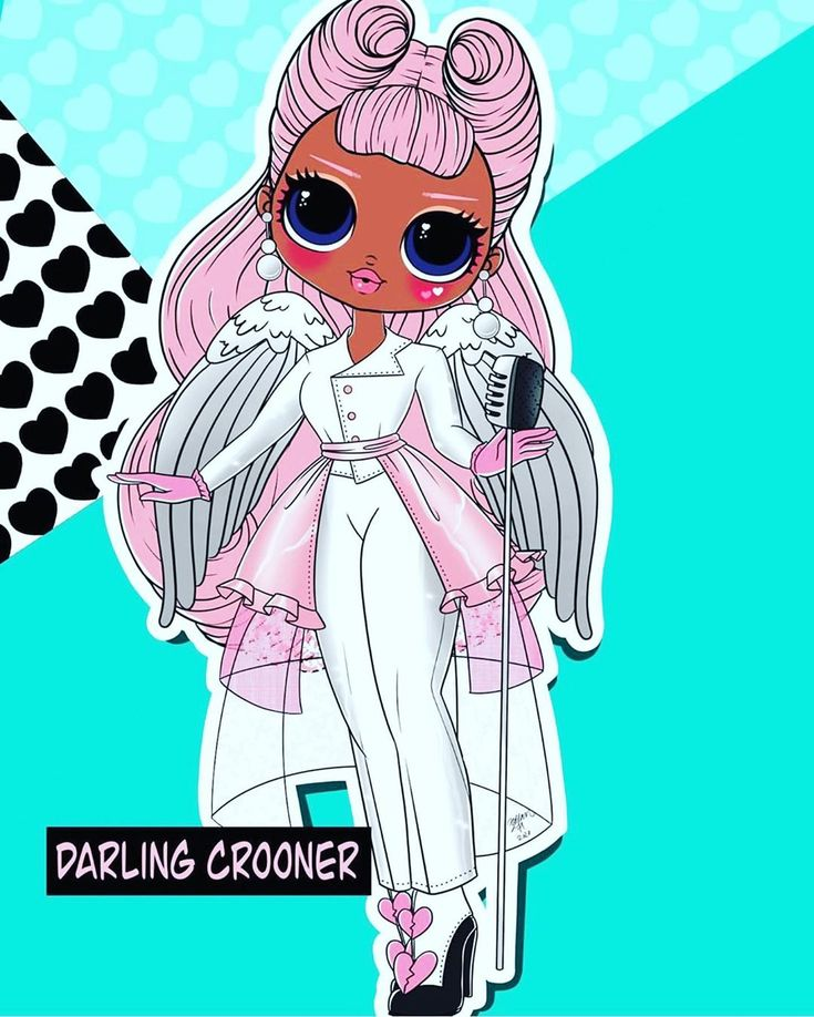 Hey Guys! Let me introduce you the OMG Doll Art by @dnkh ...