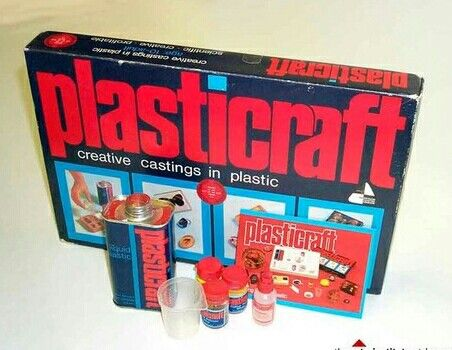 Plasticraft - loved making jewelry with this stuff....wish it was still around today!
