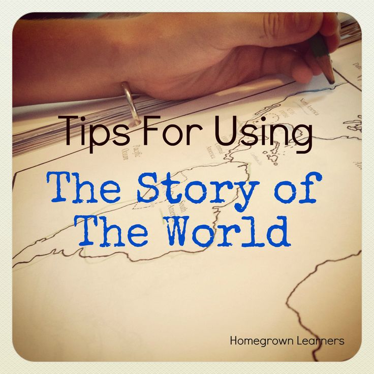 Tips for Using The Story of The World - links to great resources