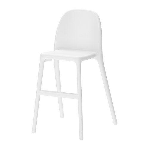 IKEA - URBAN, Chaise junior, , L'enfant est à la bonne hauteur pour manger à table avec les grands.Facile à entretenir.Empilable, ce qui permet de gagner de la place quand on ne l'utilise pas.