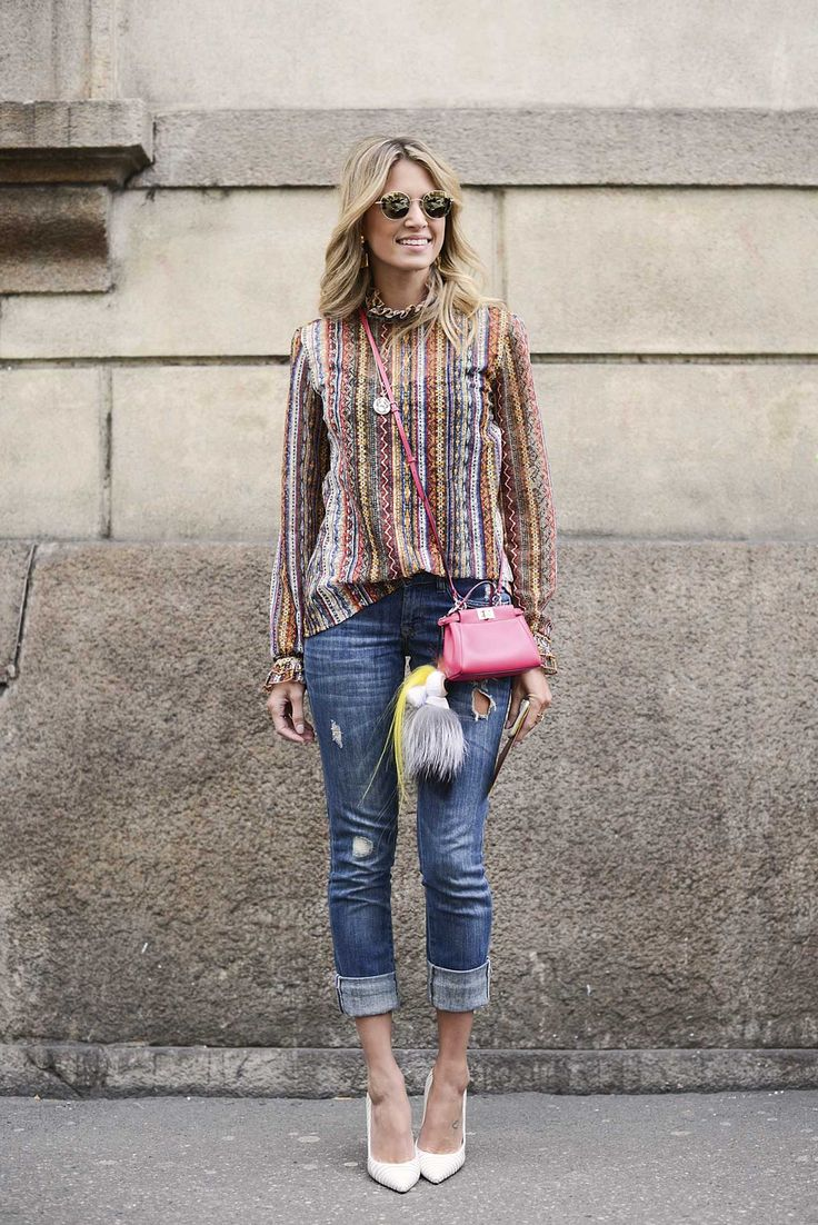 How To Make Ripped Jeans Look Chic