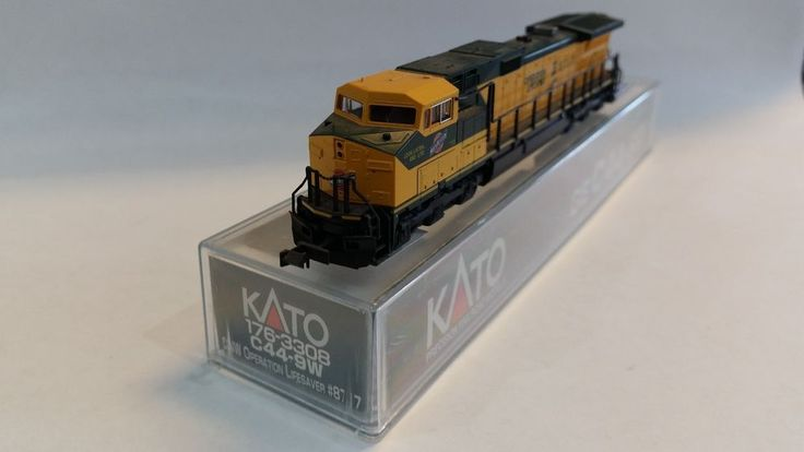 "Kato Model Train Locomotive ""Operation Lifesaver"" #C44-9W in case SHIPS FREE!"