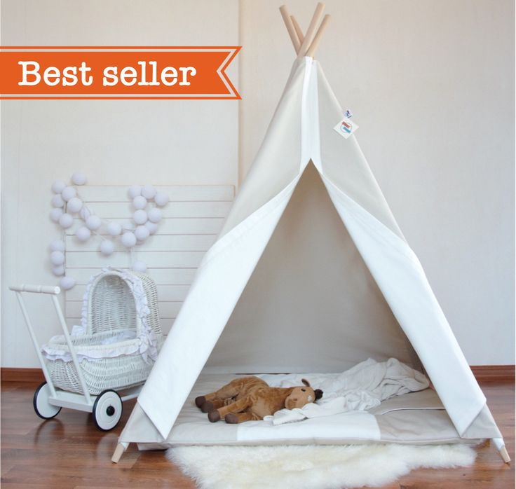 Light beige canvas teepee, childrens teepee, kids teepee, baby shower, tipi, teepee tent, kids teepee tent, summer outdoor by MyHappyTeepee on Etsy https://www.etsy.com/listing/456535184/light-beige-canvas-teepee-childrens