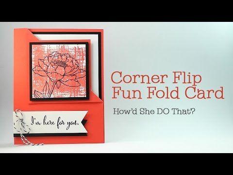 HSDT Fun Fold #4: You've Got This Sneak Peek Corner Flip Card - DOstamping with Dawn, Stampin' Up! Demonstrator