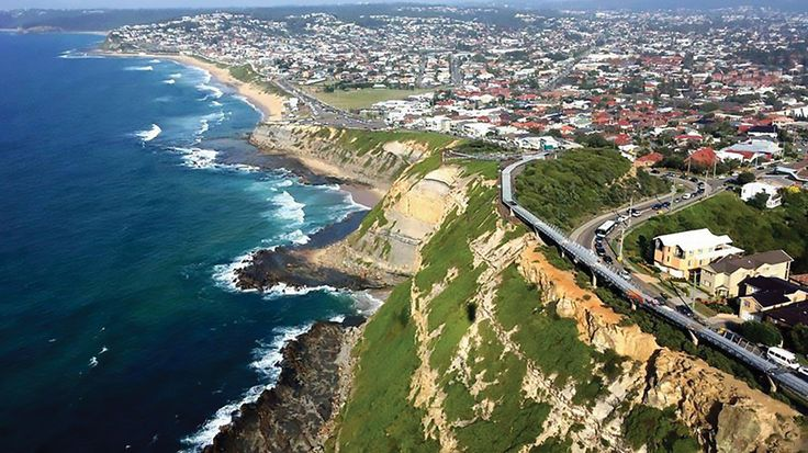 As the 100th anniversary of the ANZAC landing at Gallipoli has been commemorated across Australia, in Newcastle, New South Wales, the sacrifices of the country's Anzacs are being remembered with a newly constructed Memorial Walk along the coastline. The raised walk stretches 450m and incorporates a 160m-long clifftop bridge structure which includes seven precast concrete pylons which hold the bridge span above the cliffs. Taken from 'Newcastle ANZAC Memorial Walk'.
