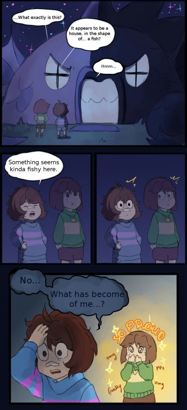 Au where everything is the same except chara isn't evil and joins in frisk's adventures