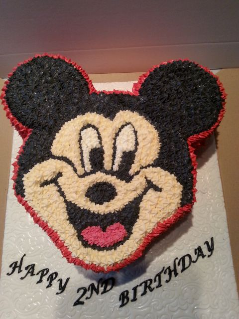 Mickey Mouse Cake By Sheila's Cake Creations in Essex UK