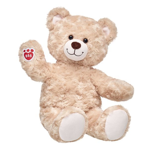 Build-A-Bear SPARKLY FUCHSIA PINK SEQUIN Teddy EAR BOWS Clothes Hair Accessories