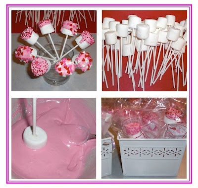 Marshmallow Pops Party Favor - Do it Yourself