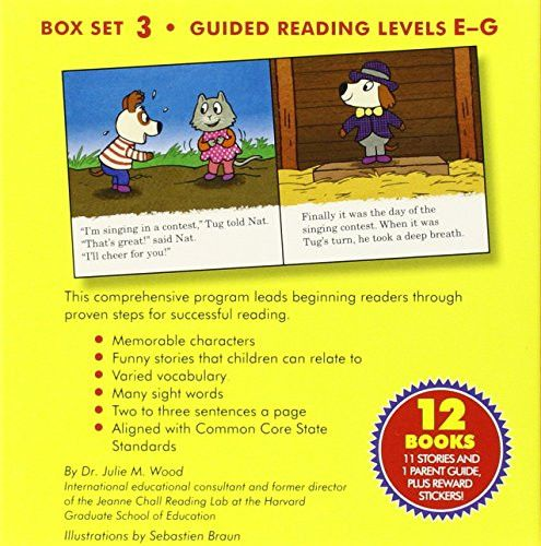 Learn to Read with Tug the Pup and Friends! Box Set 3: Levels Included: E-G (My Very First I Can Rea