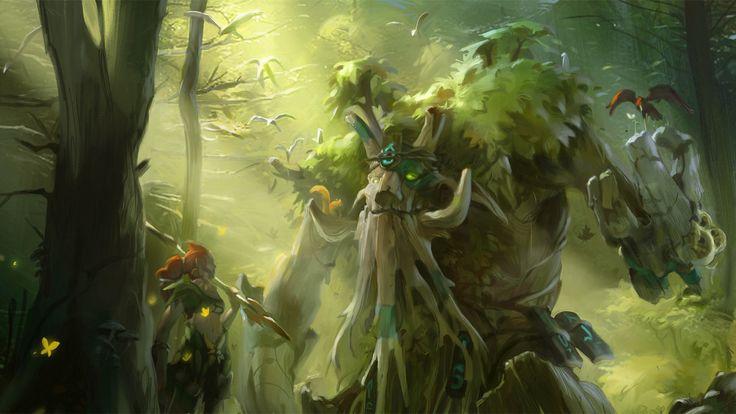 1600x900 enchantress #dota 2 wallpaper hd