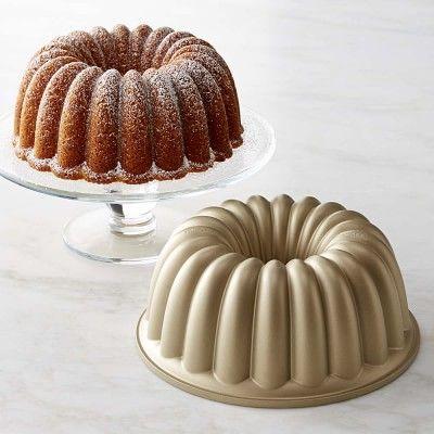 Pumpkin Cake - Nordic Ware Party Bundt® Cake Pan #williamssonoma