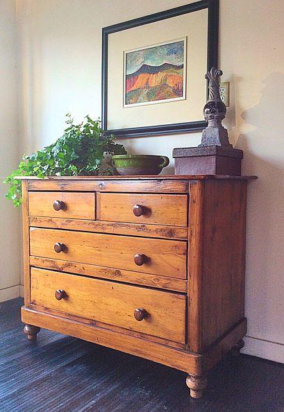 the restored dresser