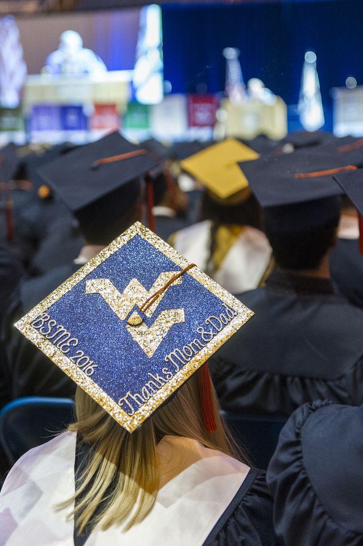 #WVUgrad #graduation #mortarboard #WVU #Mountaineers #LetsGoMountaineers #WestVirginia #WestVirginiaUniversity #Morgantown