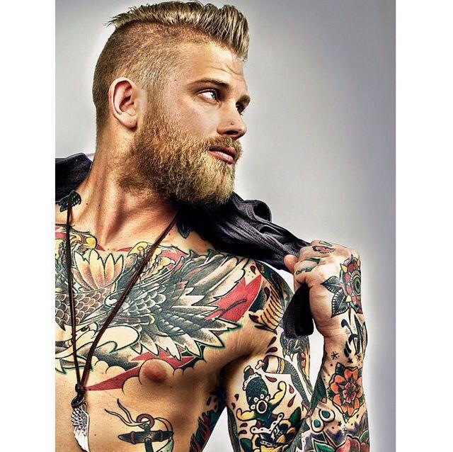 29 Best Bearded Men Images On Pinterest