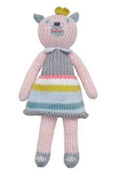homemade doll: Girls Generation, Blabla Rattle, Baby Girls, Easter Baskets, Girls Cat, Cat Rattle, Knits Dolls, Girls Nurseries, Kid