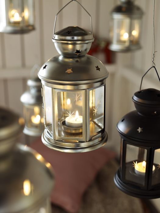 Rotera Lantern For Tealight Galvanized Indoor Outdoor