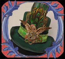 Mini Hat /Steampunk, Gothiques, Fascinator, Victoriens ...