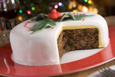 Iced Christmas Cake - Christmas Cake Recipe