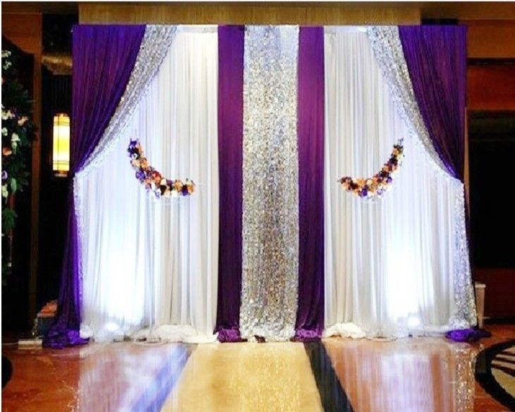 25+ best ideas about Pipe and drape on Pinterest | Sequin wedding ...