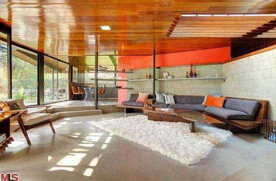 The Friedman House. 12414 Rochedale Lane, Los Angeles, CA. A. Quincy Jones; Built 1950.