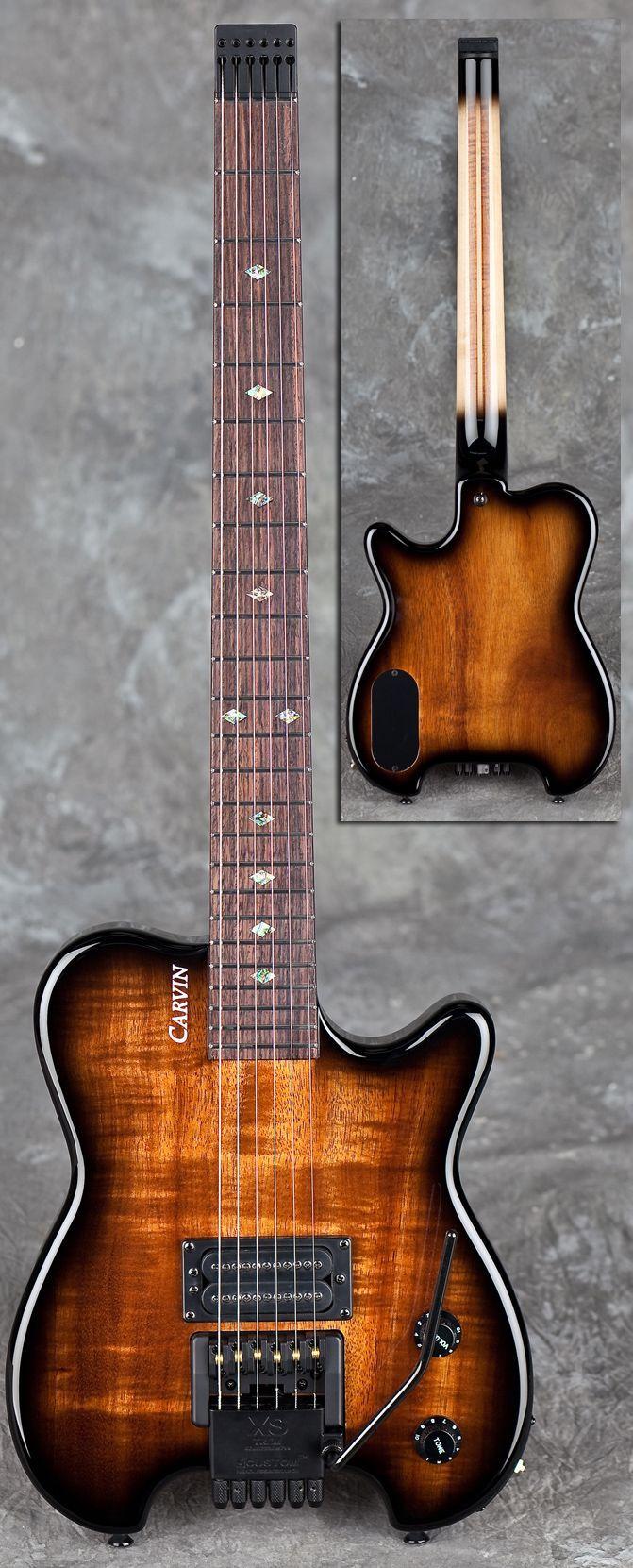HH1X Allan Holdsworth Signature Headless Guitar w/ XSTrem