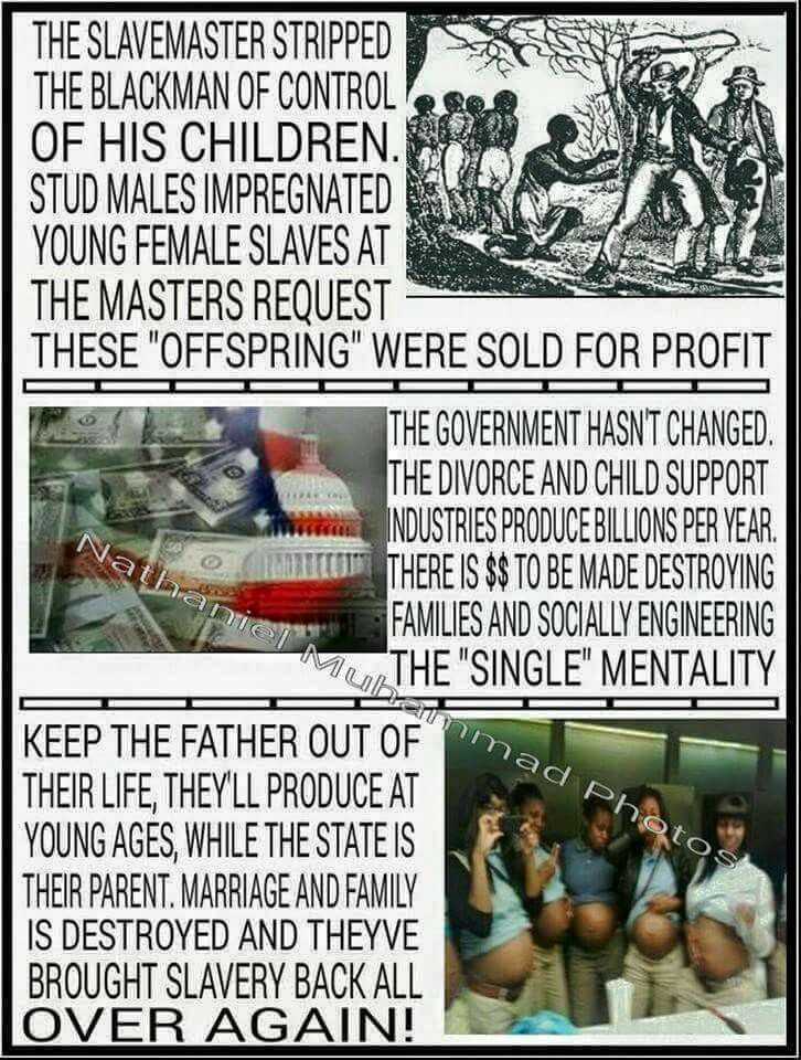 Shameful, but what do you expect from the slavemaster children?