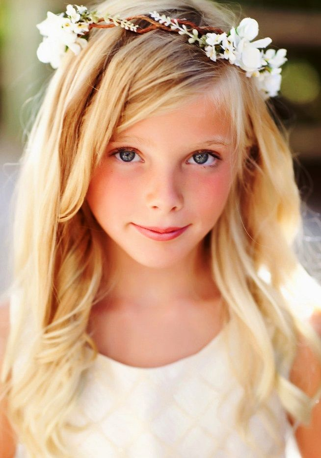 #Flowergirl #flowercrown ToniK ❀Flower❀Girls❀ Corona halo #wedding hair flowers Heather Armstrong Photography