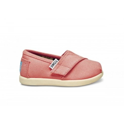 Pink Canvas Tiny TOMS these are sooo cute!!!!