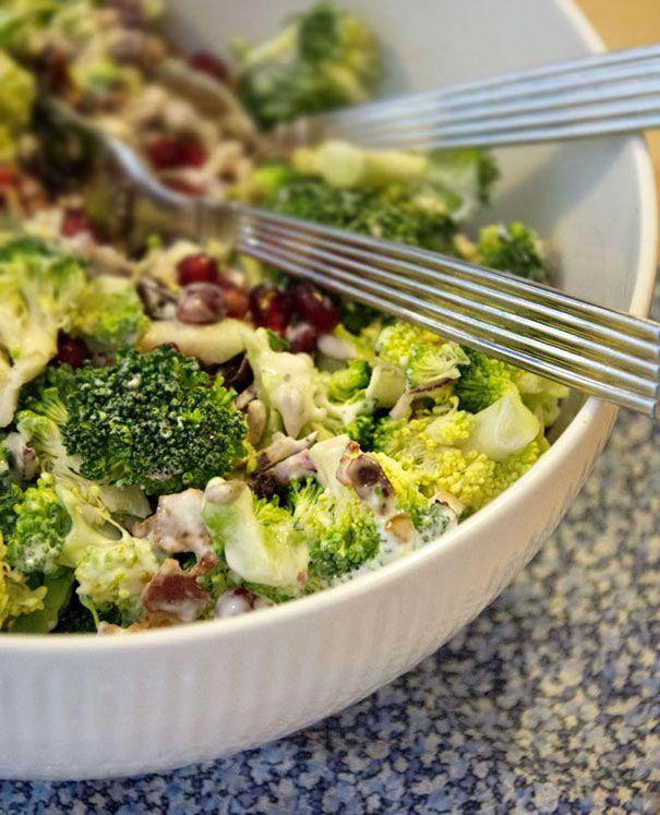 Broccolisalat ➙ Opskrift fra Valdemarsro.dk