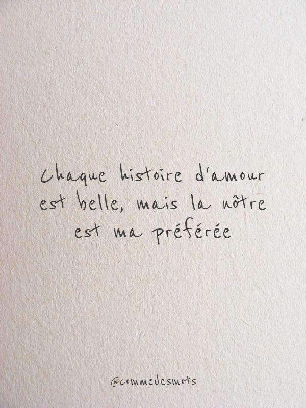 Ma Plus Belle Histoire D'amour C'est Vous Paroles : belle, histoire, d'amour, c'est, paroles, Chaque, Histoire, D'amour, Belle, Citation, Amour, Heureux,, Belles, Citations,, Proverbes, Citations